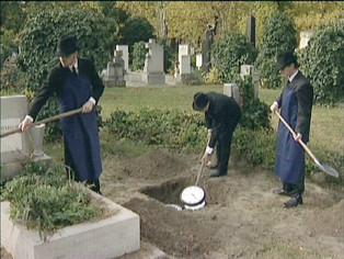 The Time of the Burial (video still)