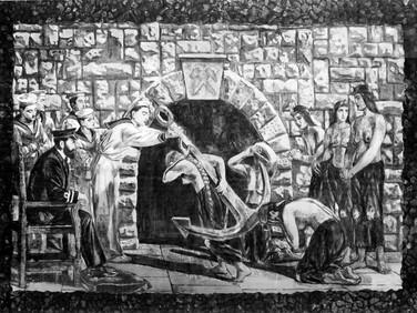 The Captain's Story VI (The Moorish Proselytes of Archbishop Ximenes, Granada, 1500)
