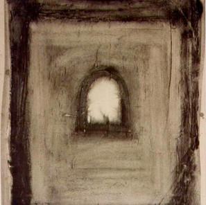 graphite powder, canvas 1993. Private Collection
