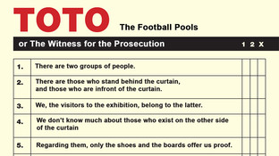 Poster for the TOTO or the Witness for the Prosecution