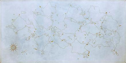 dessin bastien faudon art artconteprain contemporaryart drawing œuvre carte map