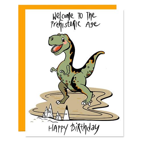Dino Age Birthday