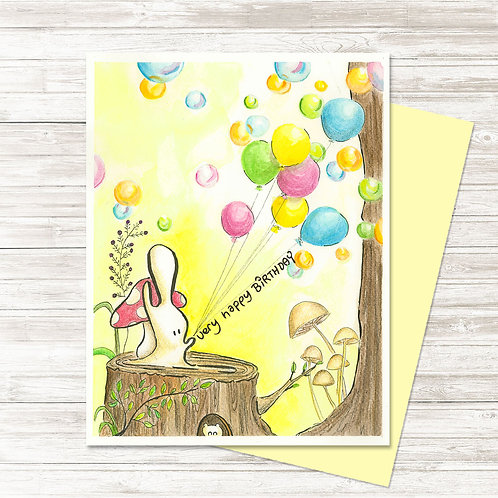 The Birthday Playground - Card