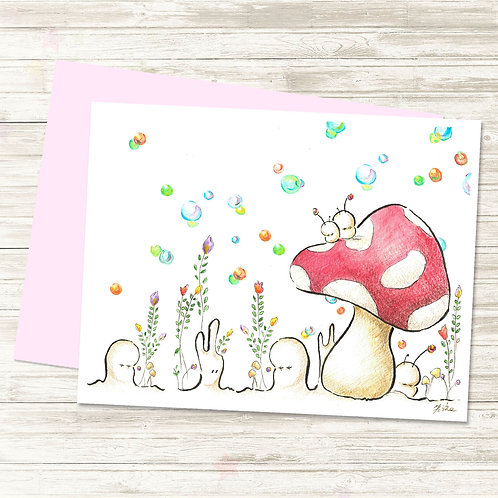 Cubabas in Spring - Card