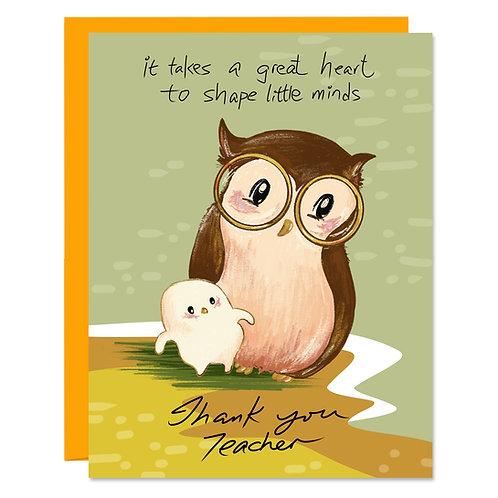 Teacher With Great Heart