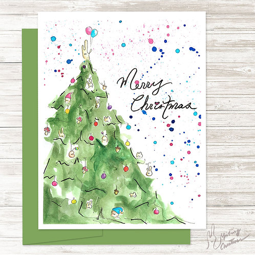 Christmas Tree - Card