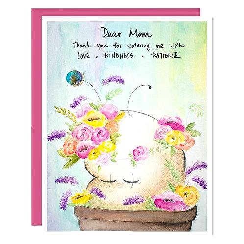 Growing Beautifully - Card