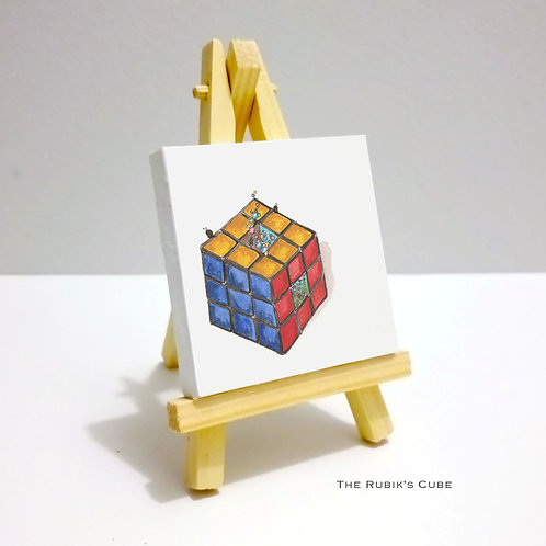 The Rubik's Cube - Mini Canvas