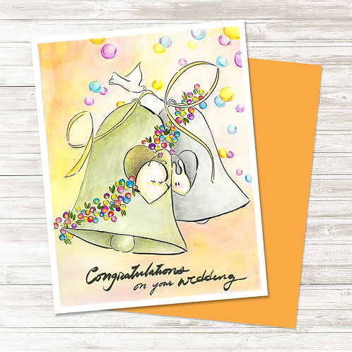 The Wedding Bell - Card