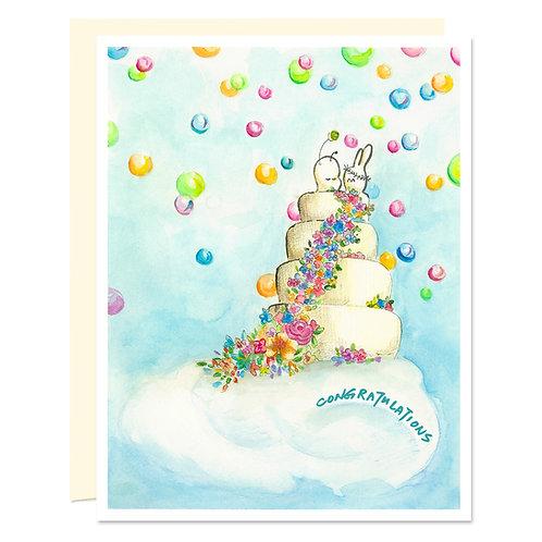 Wedding Cake - Card