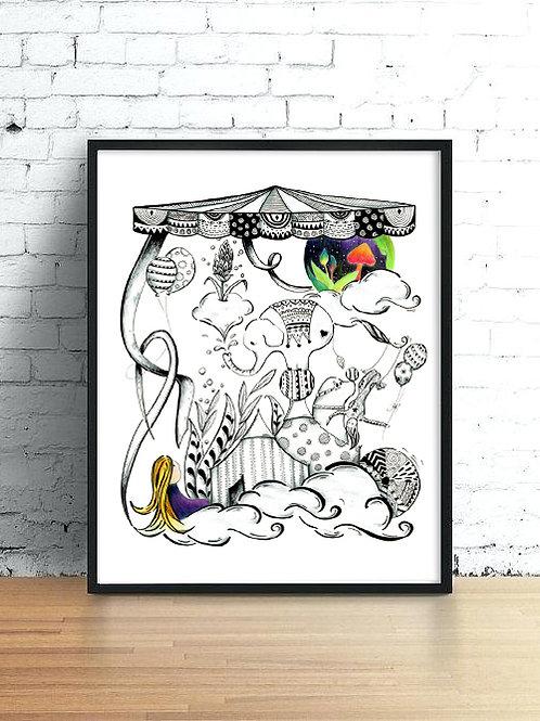 Longing- Art Print