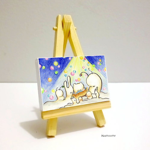 Nativity - Mini Canvas