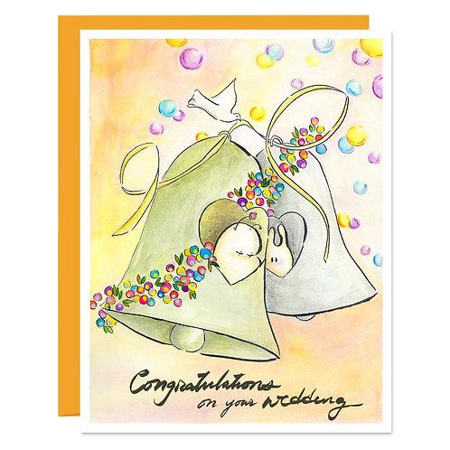 The Wedding Bell - Card