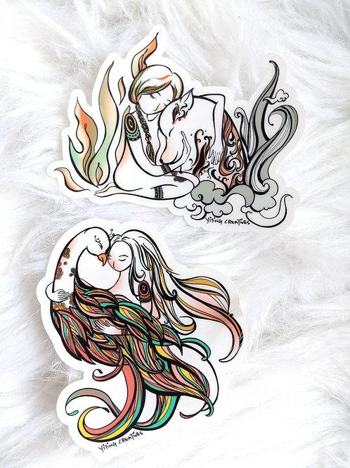 The Spirits &  I Vinyl Stickers