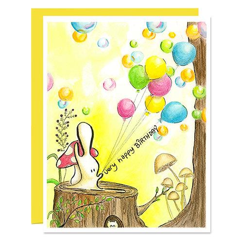The Birthday Playground - Card