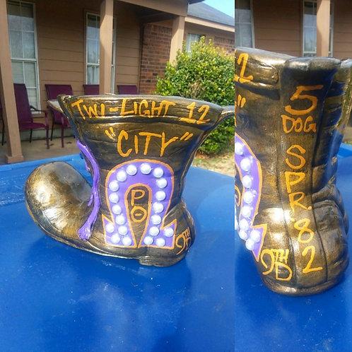 The Gold Boot (Ceramic)