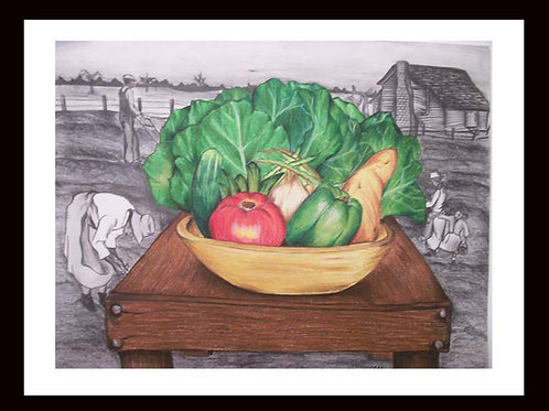"""FRESH HARVEST"" 18 X24 LIMITED EDITION PRINT"
