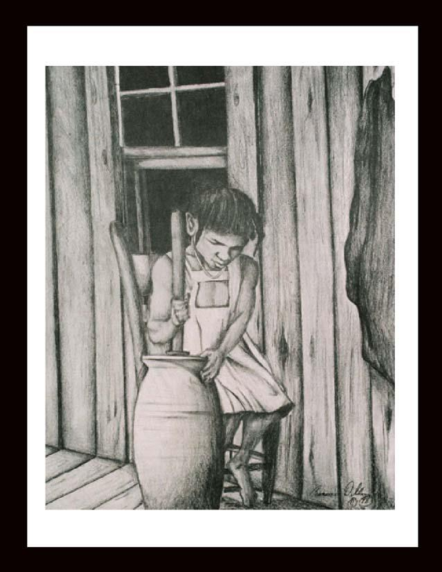 """The Churn"" 16x20 Limited Edition Print"