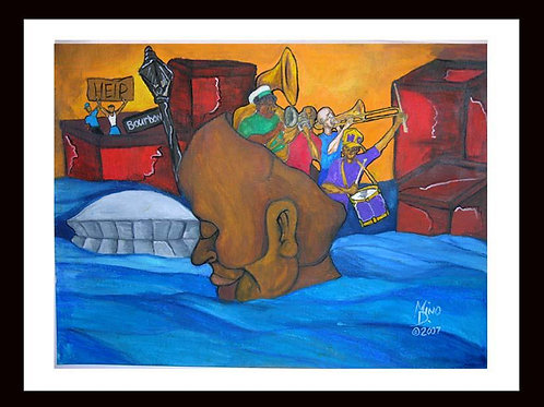 """SECOND LINE ON MY MIND"" 18X24 Limited Edition Print"