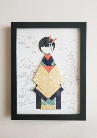 Origami Geisha 2
