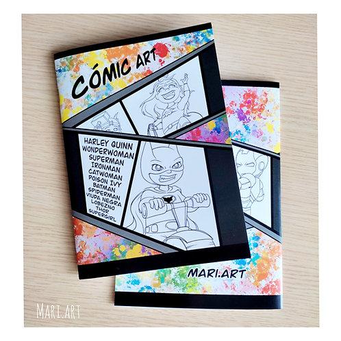 Libreta COMICART