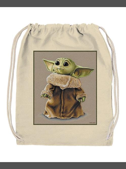 Mochila Baby Yoda