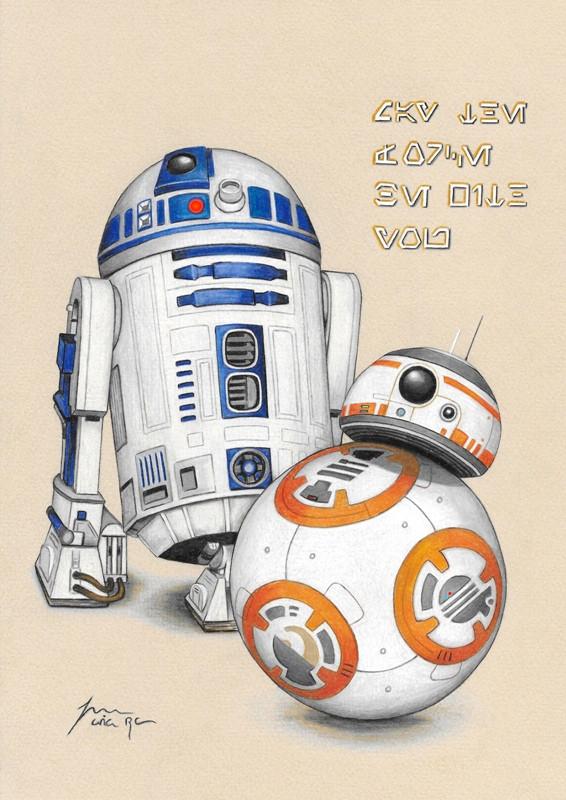 R2D2 & BB8