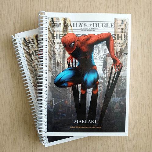 Cuaderno Spidy-byMari.art