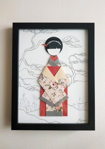 Origami Geisha 1