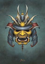 Mascara Samurai 1