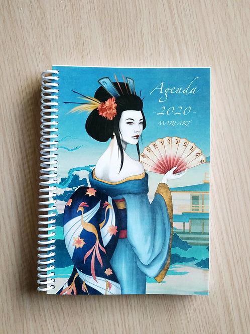 Agenda 2020 Geisha Azul