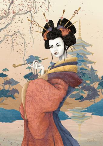 Geisha Naranja