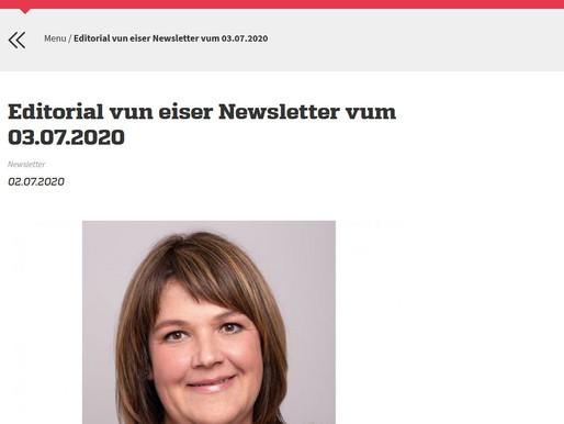 LSAP - Editorial Newsletter 03.07.2020