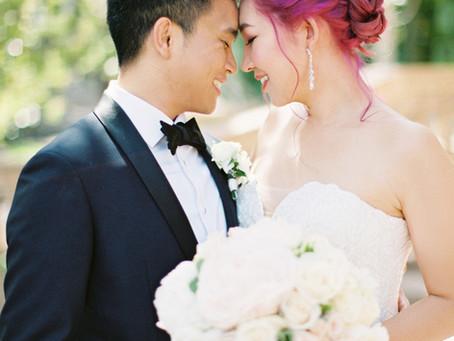 Hannah + Art - Langham Pasadena Wedding