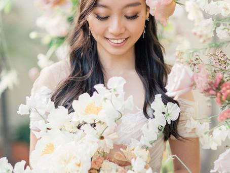 Stephanie + Chris Floral Filled Backyard Wedding