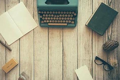typewriter-book-notes-paper-writing-writ