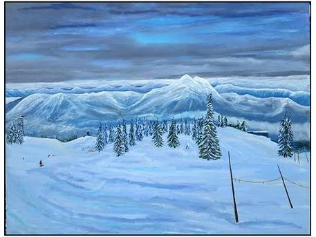 Pete Jonson's landscapes