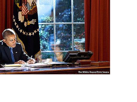 President Obama reflects