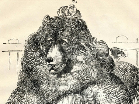 Luncheon for two: The Bear & Turkey: a strategic tete-a-tete