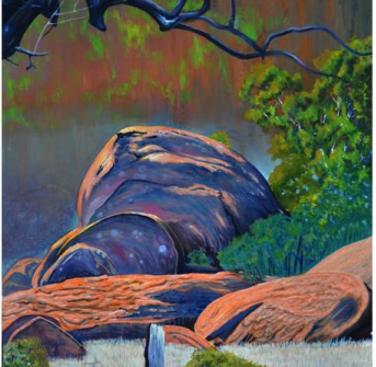 The Uluru paintings and other Landscapes