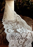 lace wedding, invitations, embellishments