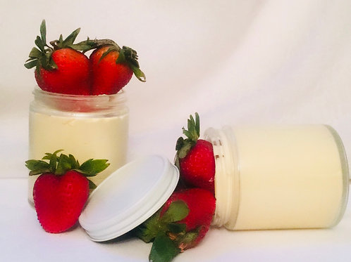 6oz Jar Strawberry Cheese Cake Honey Butter
