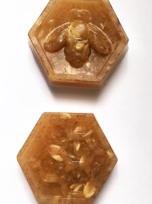 Small Oatmeal Honey Face Bar