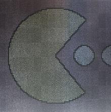 Pac-Man Acrylic on canvas 100cmx100cm