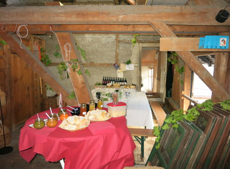 Weinverköstigung in Altach