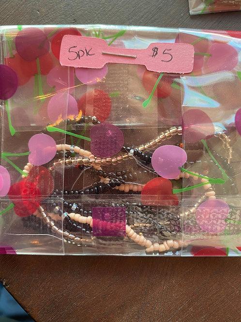 5 for $5 Bracelets