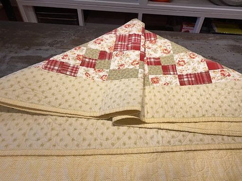 Green & Red Quilt
