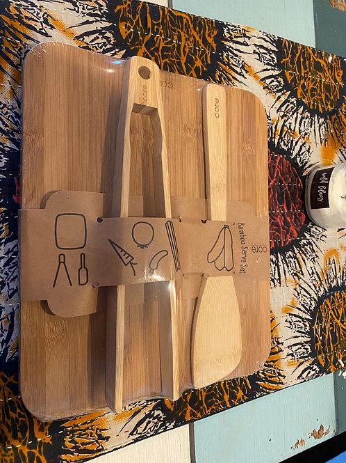 Core Bamboo Serve Set