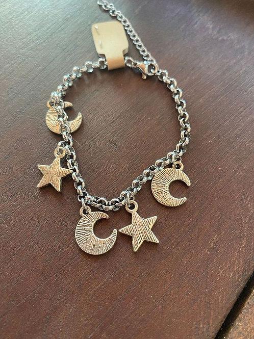 Star & Moon Bracelet