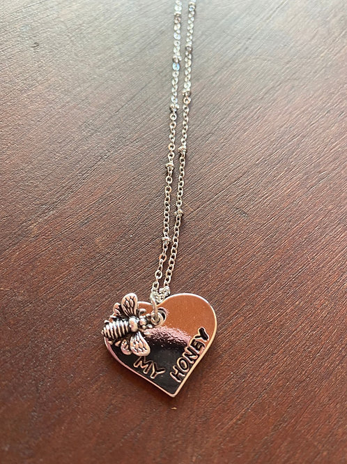 Honey Heart Necklace